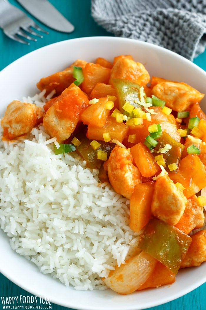 Simple Sweet and Sour Chicken Photo