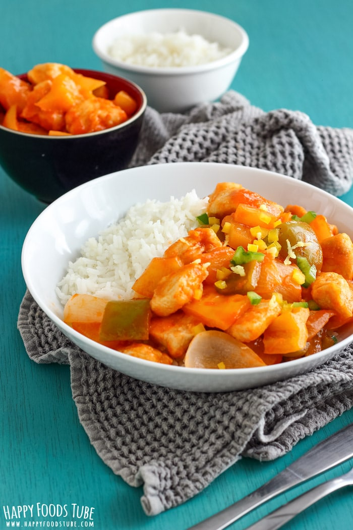 Simple Sweet and Sour Chicken Picture