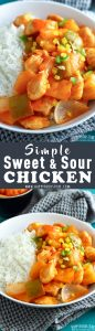 Simple Sweet and Sour Chicken Recipe Picture
