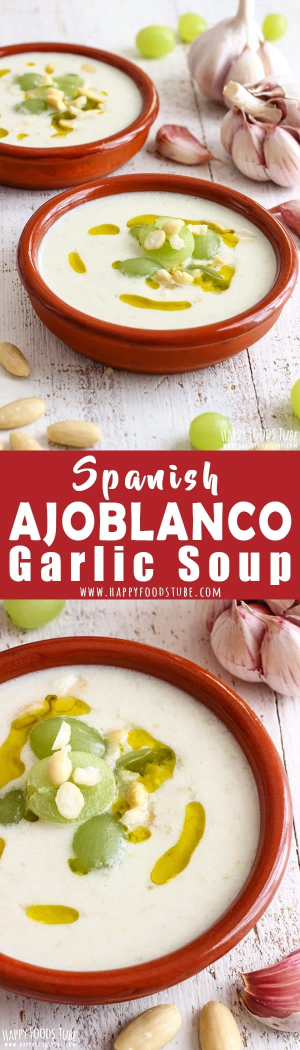 Spanish Ajoblanco Garlic Soup Recipe Picture