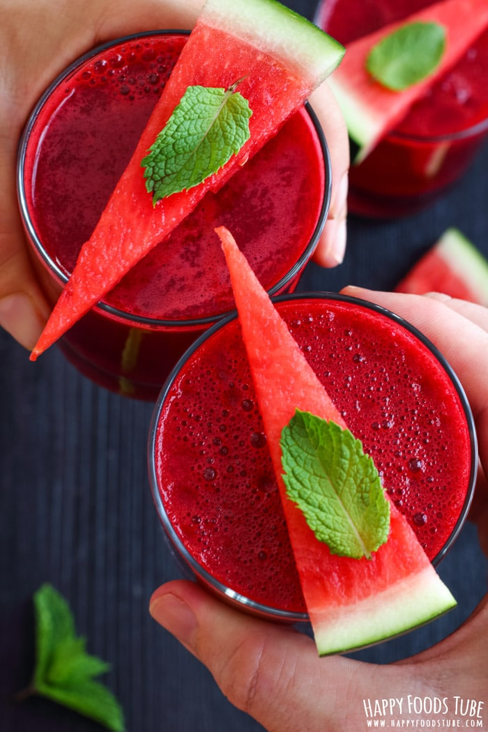 Watermelon Beet Juice Pic