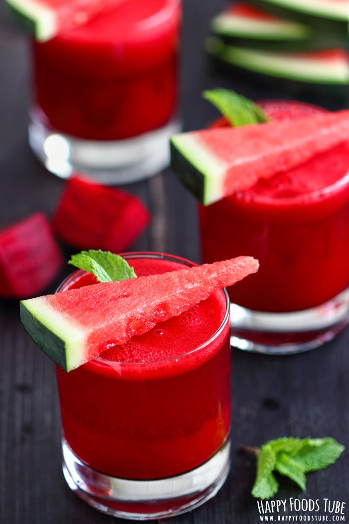 Watermelon Beet Juice Pics