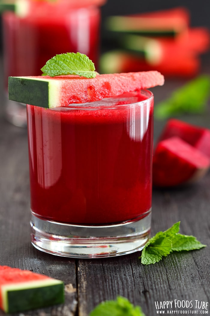 Watermelon Beet Juice Picture