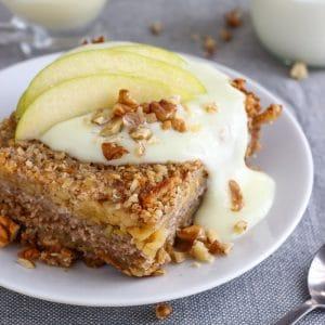 Apple Oatmeal Bake Image