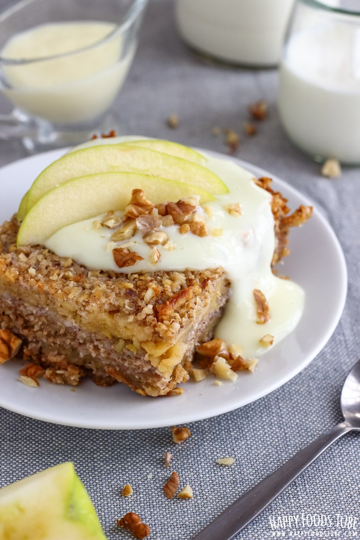 Apple Oatmeal Bake Recipe No Eggs No Flour Gluten Free