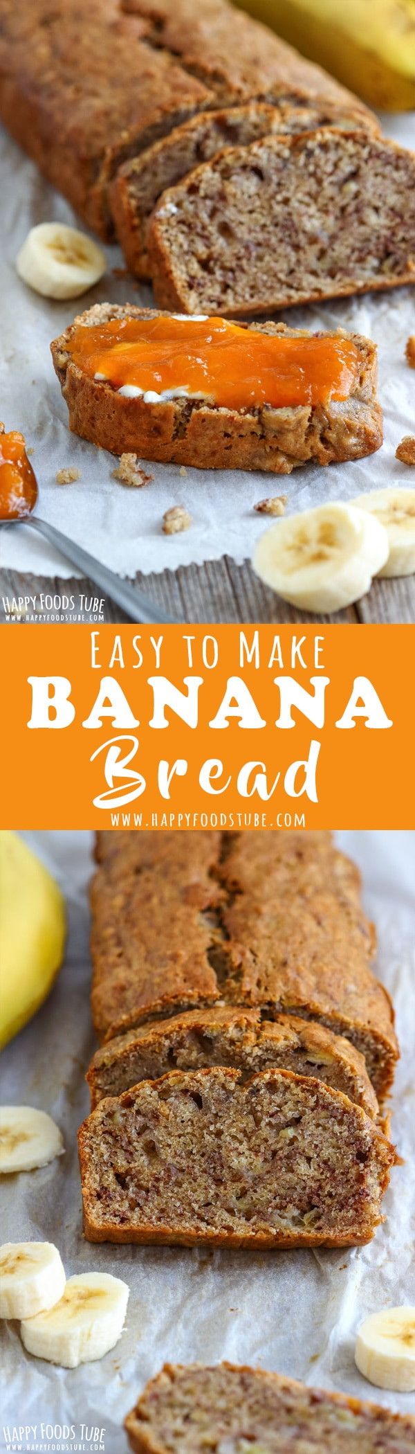 Moist banana bread recipe video happy foods tube simple homemade banana bread is the star among quick breads soft moist and sweet forumfinder Image collections