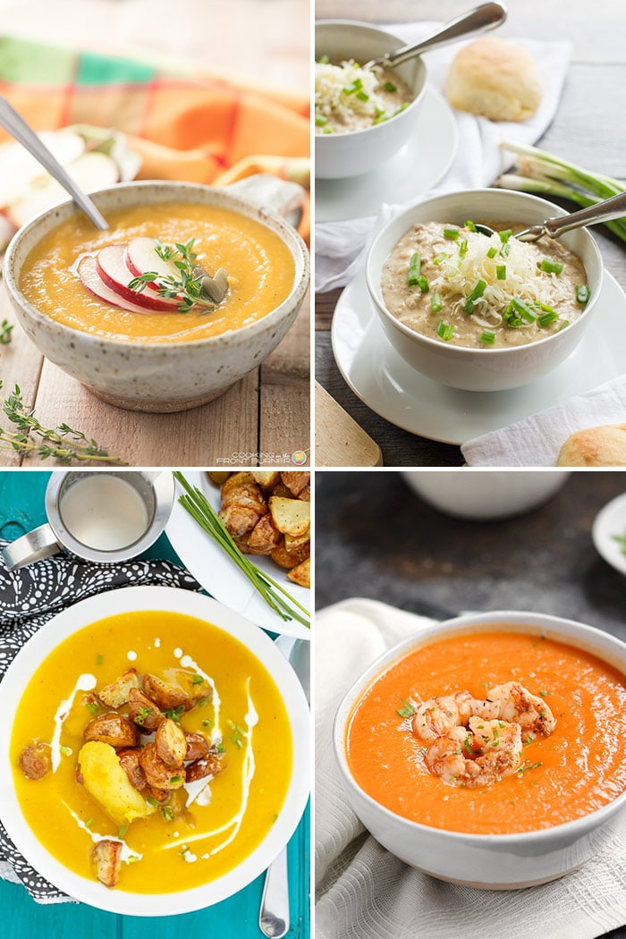 Best Fall Soups to Keep You Warm Collage Image