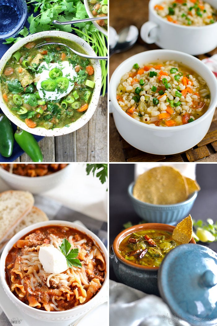 Best Fall Soups to Keep You Warm Collage Photo