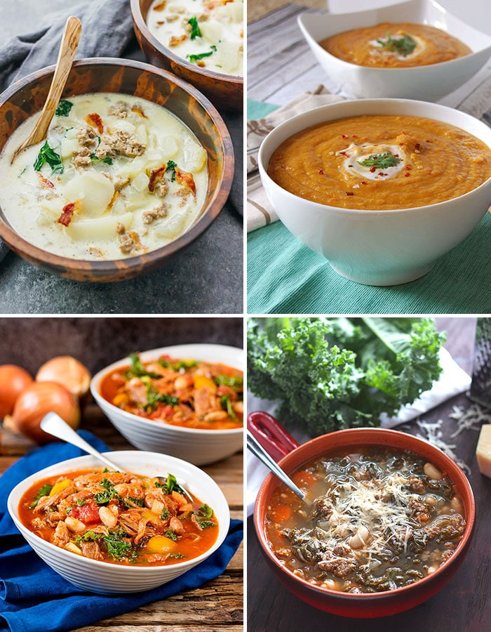 Best Fall Soups to Keep You Warm Collage Picture