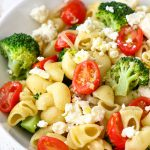 Broccoli Tomato Pasta Salad