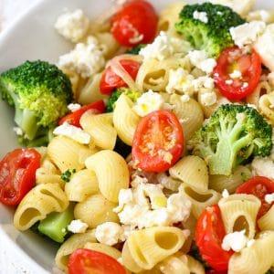 Broccoli Tomato Pasta Salad Image