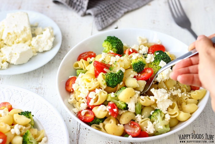 Broccoli Tomato Pasta Salad Photo