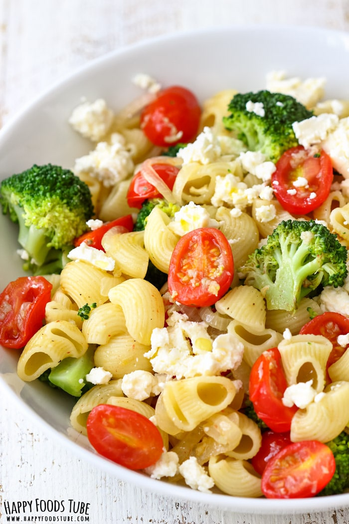 Broccoli Tomato Pasta Salad Picture