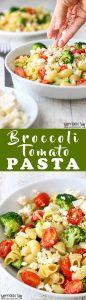 Broccoli Tomato Pasta Salad Recipe Picture