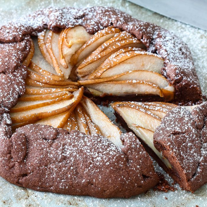 Chocolate Pear Galette Image