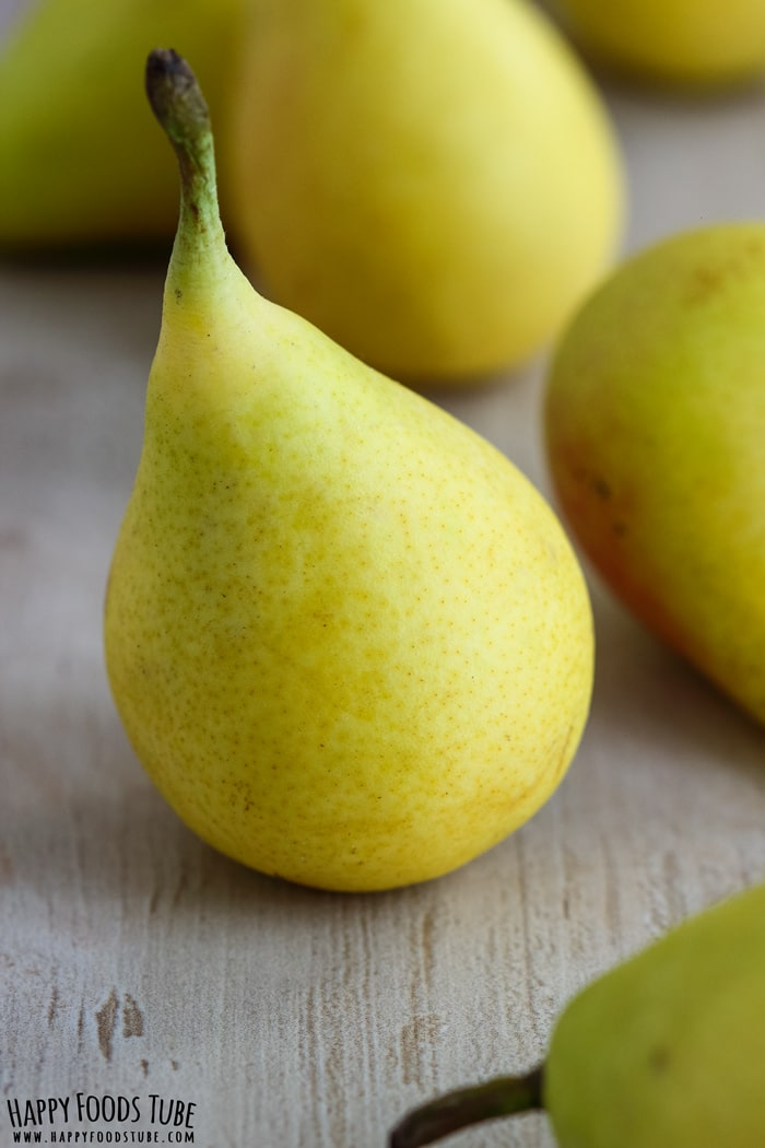 Fresh Pears Closeup Picture