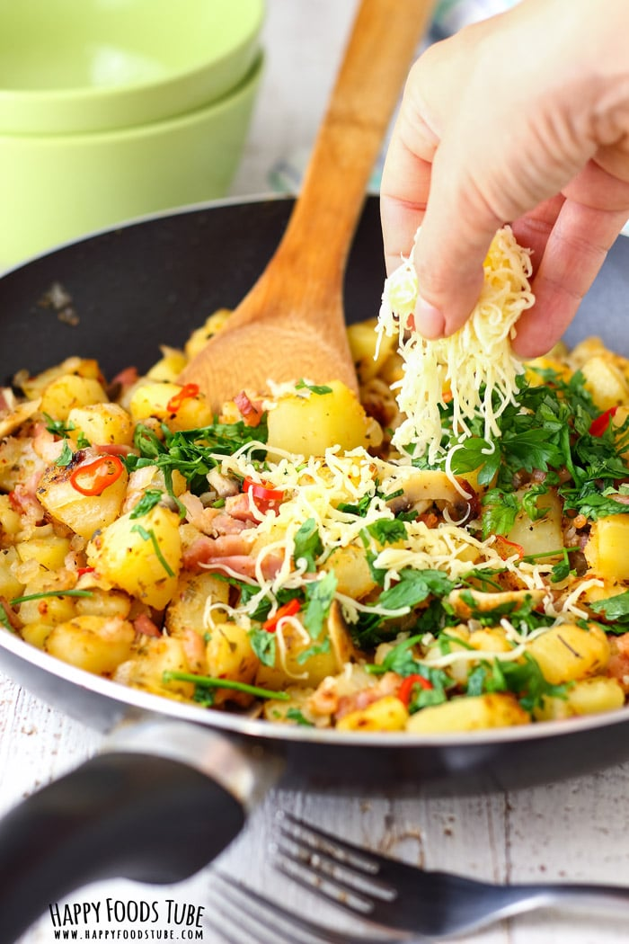 Pan Fried Breakfast Potatoes Photo