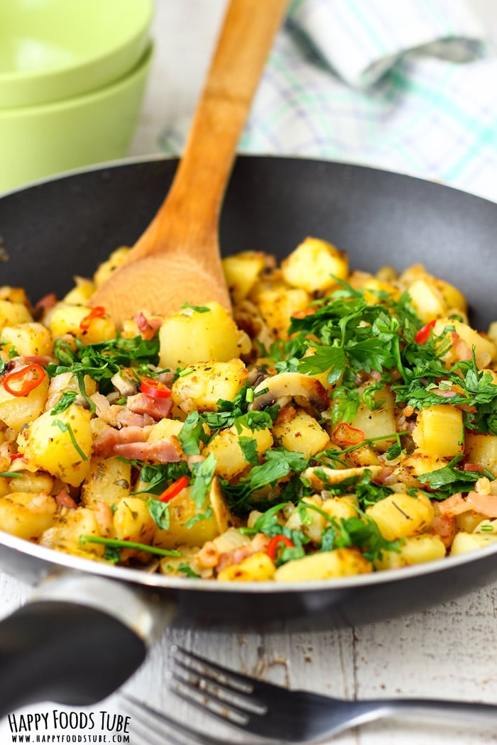 Pan Fried Breakfast Potatoes Picture