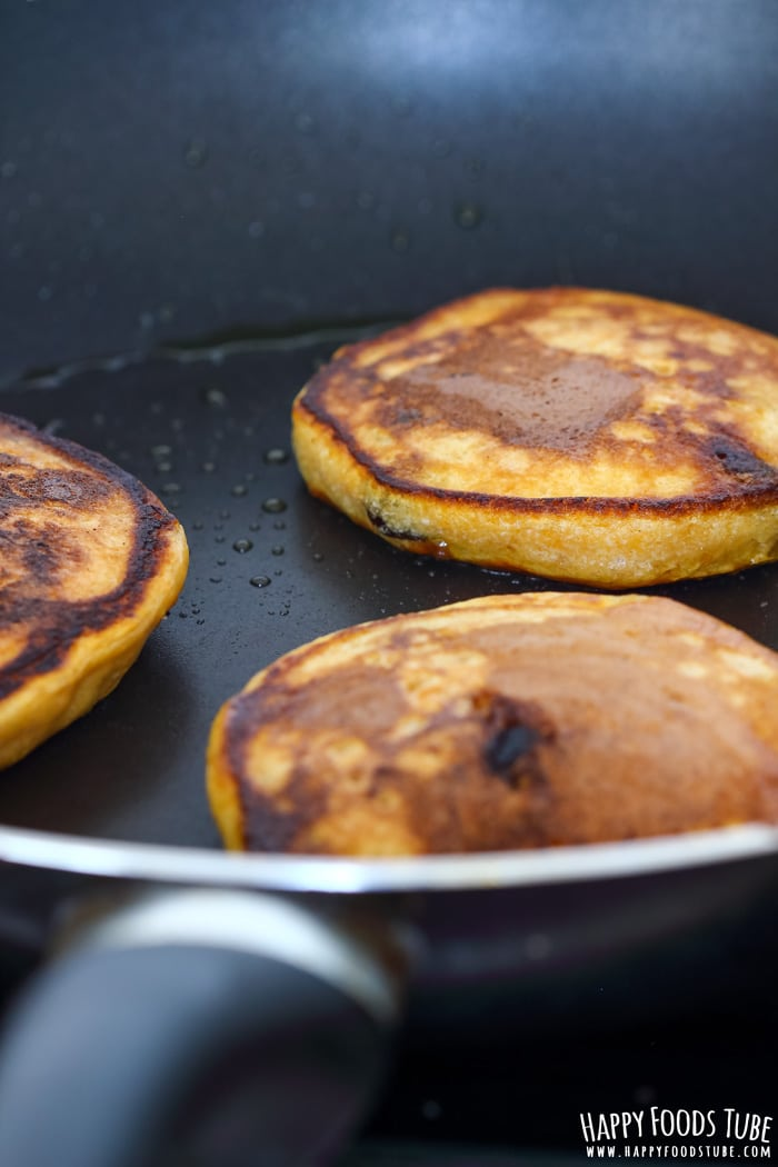 Baking Chocolate Chip Sweet Potato Pancakes Picture