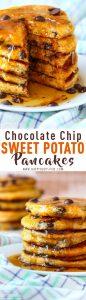 Chocolate Chip Sweet Potato Pancakes Recipe Picture