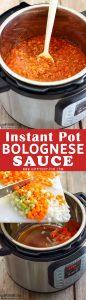 Instant Pot Bolognese Sauce Recipe Picture