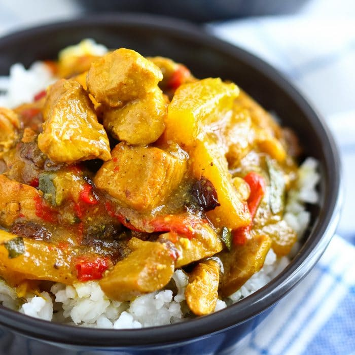 Instant Pot Chicken Curry Image