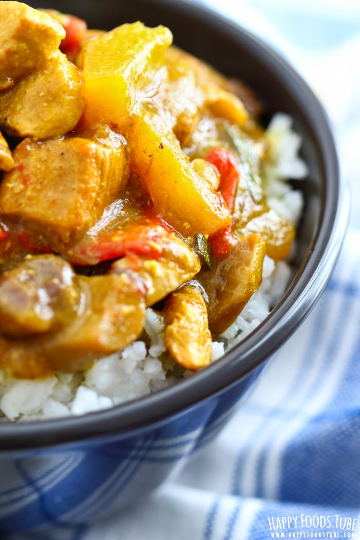 Instant Pot Chicken Curry Photo