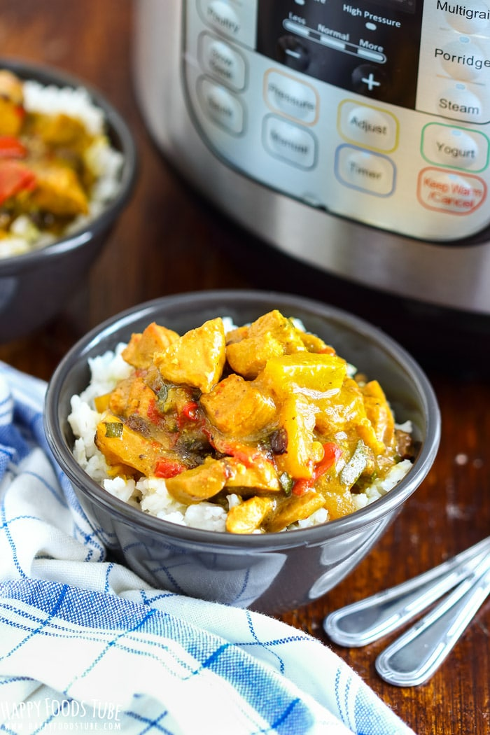 Instant Pot Chicken Curry Pic