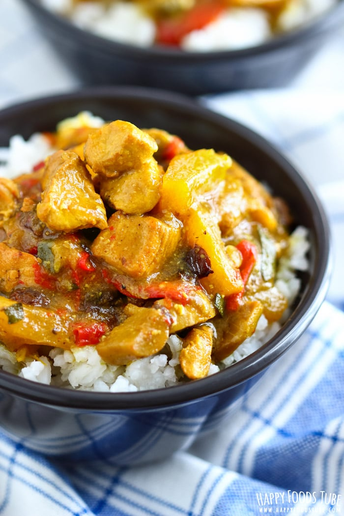 Instant Pot Chicken Curry Picture