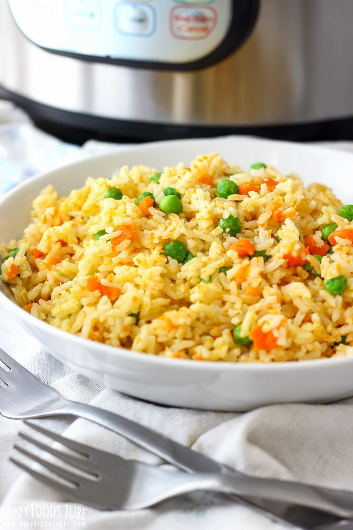 Instant pot fried rice pressure cooker fried rice instant pot fried rice photo ccuart Choice Image