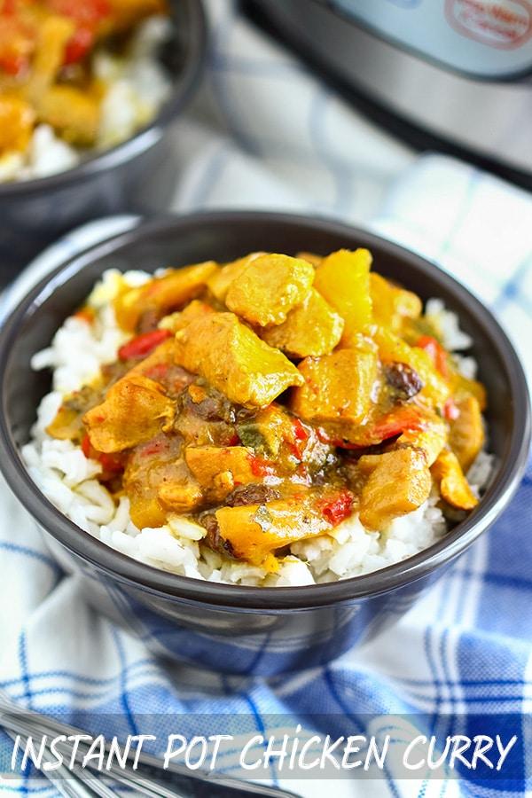 Instant Pot Pressure Cooker Chicken Curry Recipe