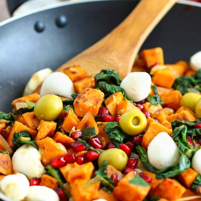 Mediterranean Sweet Potato Hash