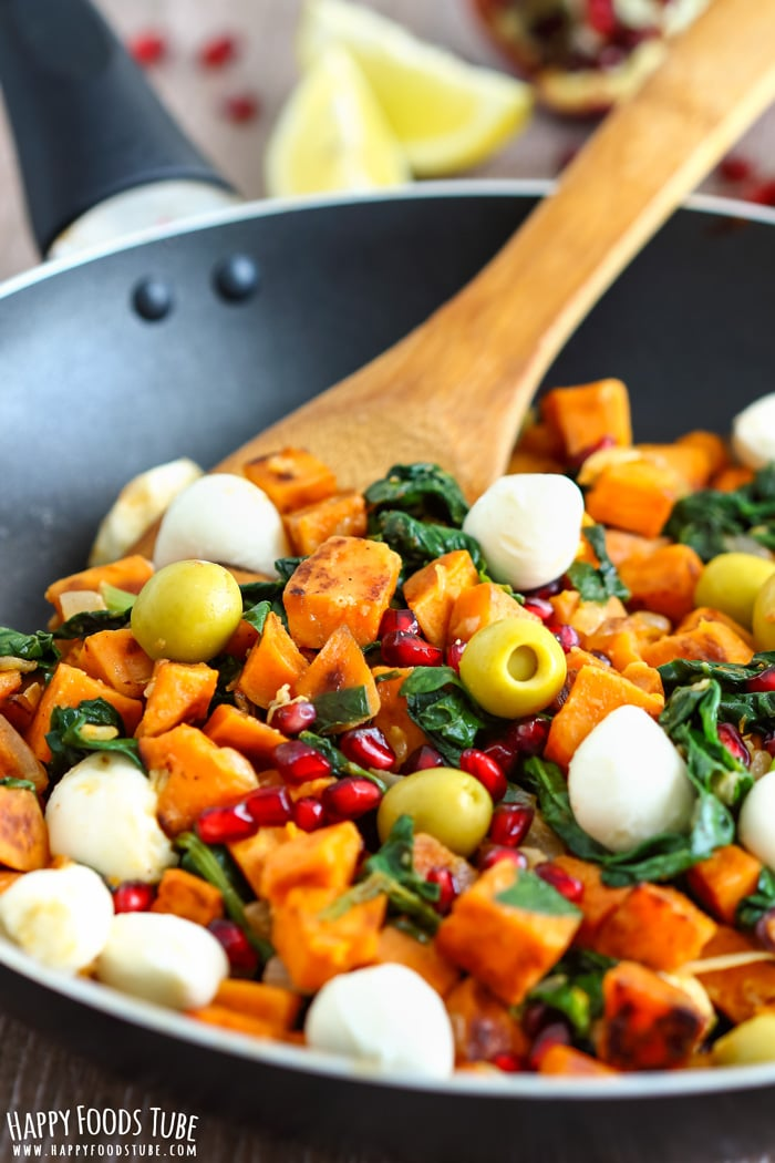 Mediterranean Sweet Potato Hash Picture