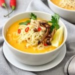 Spicy Thai Pumpkin Soup Image