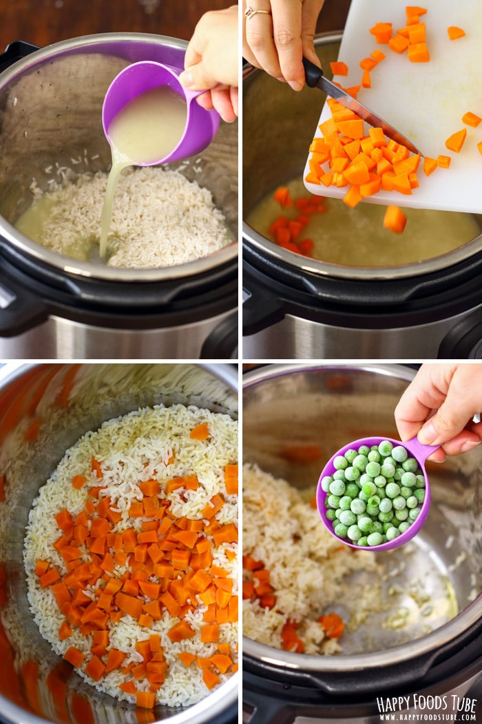Step by Step Instant Pot Fried Rice Picture