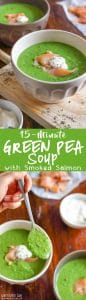 15 Minute Green Pea Soup Recipe Picture