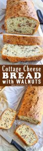 Cottage Cheese Bread with Walnuts Recipe Picture
