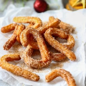 Festive Gingerbread Churros Image