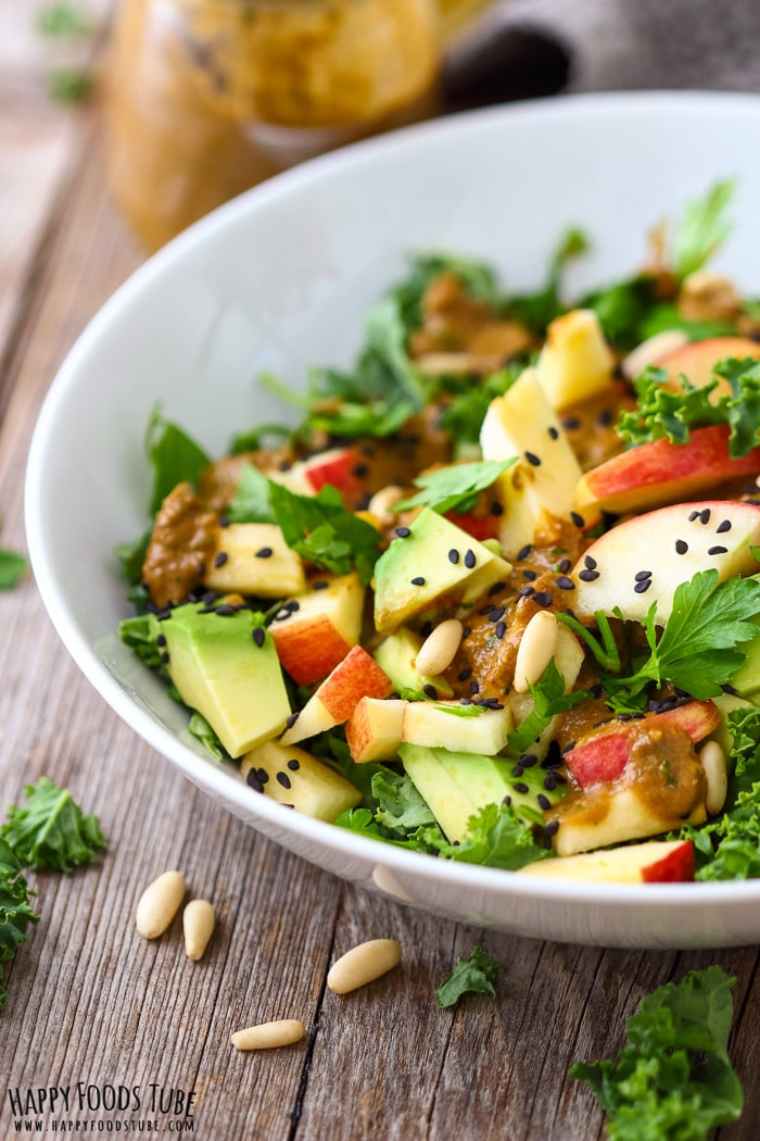 Fresh Kale Salad Picture