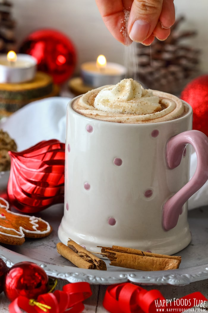 Gingerbread Hot Chocolate with Cinnamon Picture