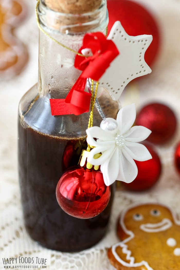 Homemade Gingerbread Syrup Photo