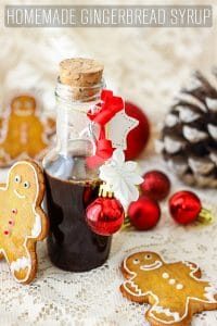 Homemade Gingerbread Syrup Recipe