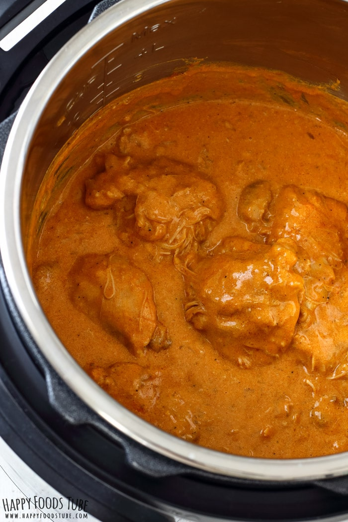 Instant Pot Chicken Paprikash Photo