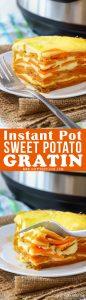 Instant Pot Sweet Potato Gratin Recipe Picture