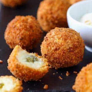 Jalapeño Mashed Potato Croquettes