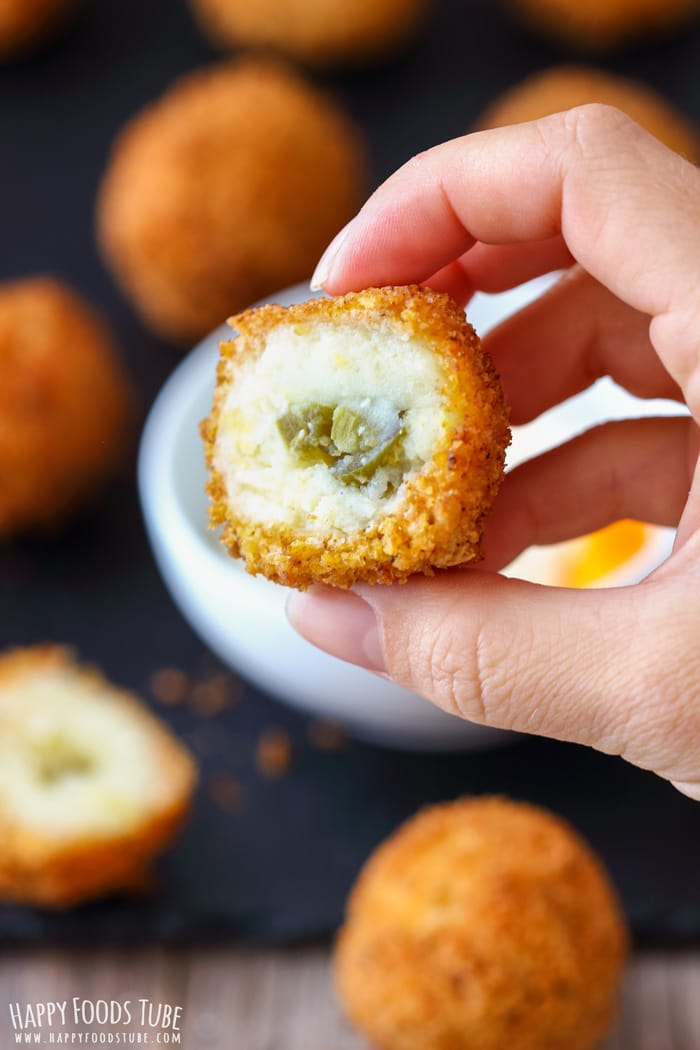 Jalapeno Mashed Potato Croquettes Photo