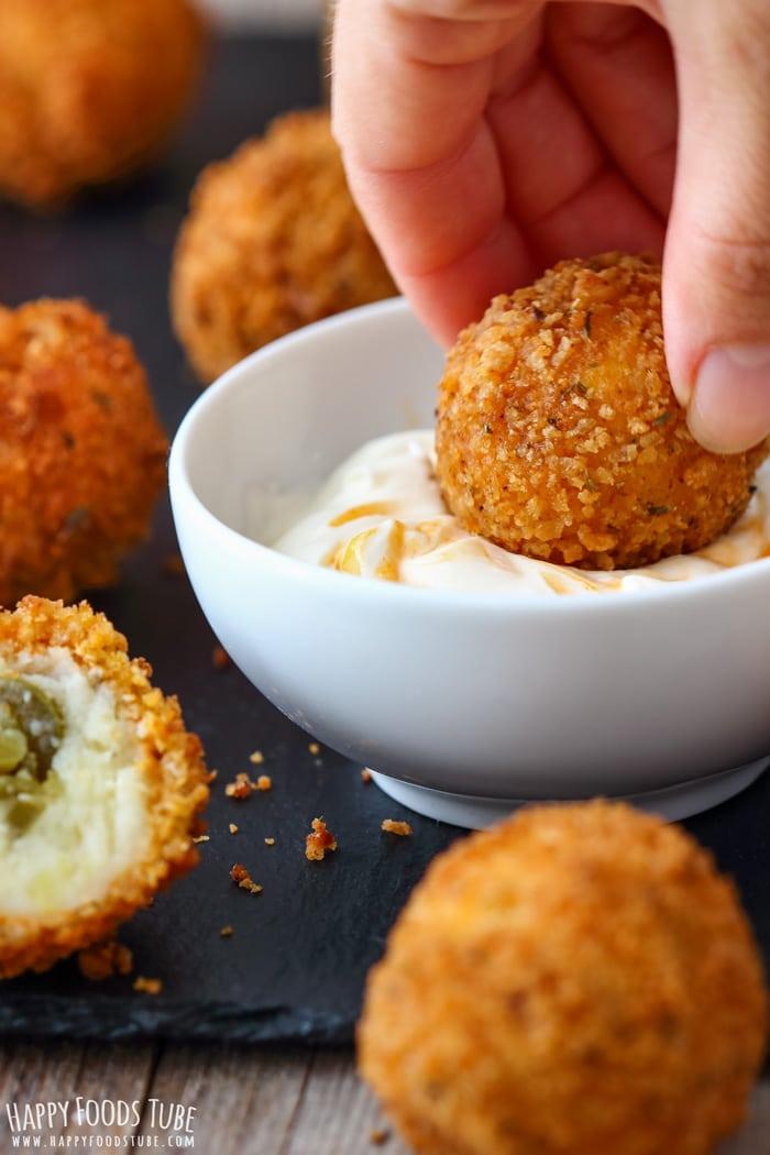 Jalapeno Mashed Potato Croquettes Pic
