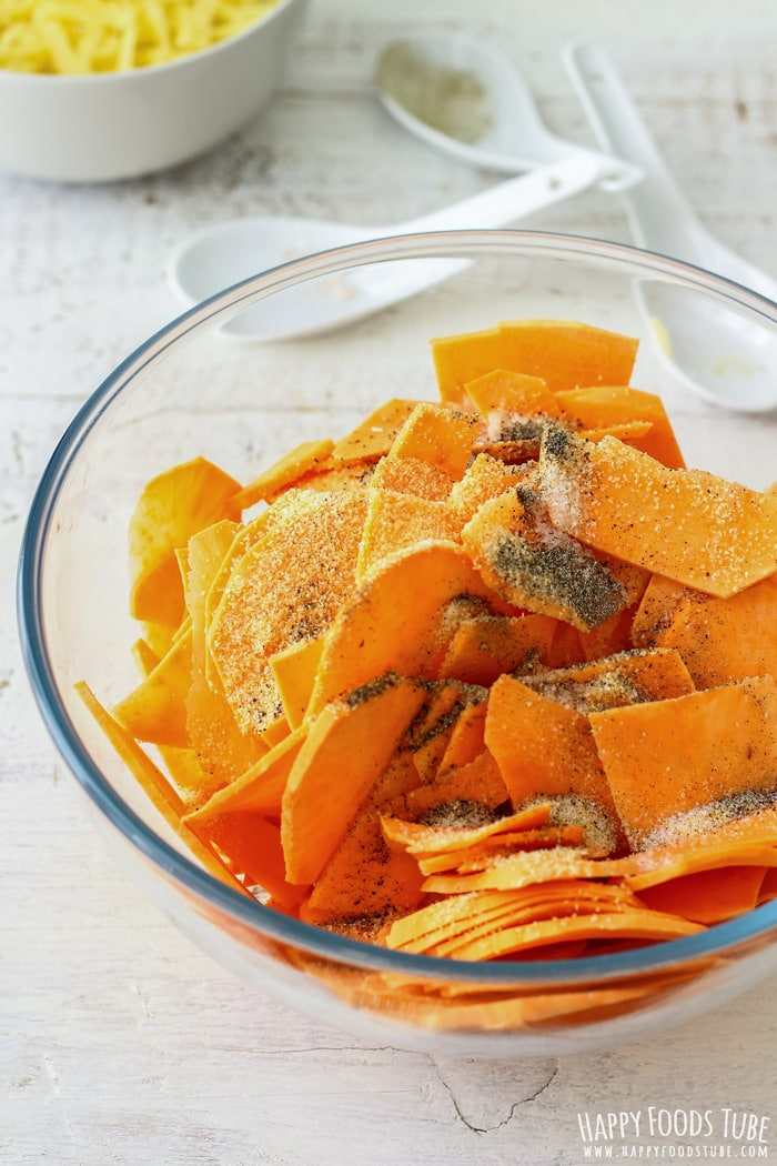 Sliced Sweet Potato Picture