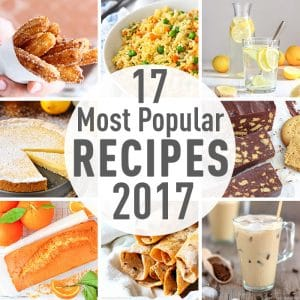 17 Most Popular Recipes 2017 Image