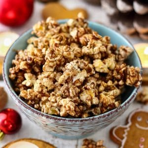 Gingerbread Popcorn Image